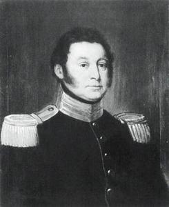 Portret van Abraham Rodolphe von Muralt (1783-1859)