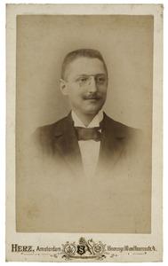 Portret van A.J.J.P. Haas (1862-1943)