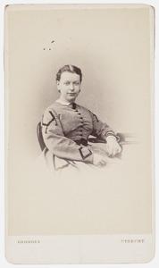 Portret van Elisabeth van Teutem (1839-1912)