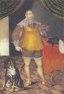Portret van koning Gustav II Adolf (1594-1632)