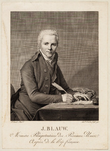 Portret van Jacobus Blauw (1756-1829)