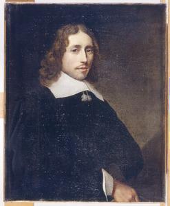 Portret van een man, genaamd Adriaan van der Goes (1635-?)