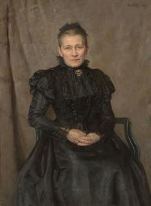 Portret van een vrouw, genaamd Lüps-van Arnhem (?-?)