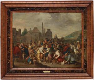 De Israeliers beroven de Egyptenaren van hun kostbaarheden (Exodus 12:35-36)