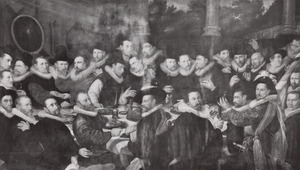 Officieren en schutters van de St.Jorisdoelen, Haarlem 1600