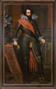 Portret van Hendrik van den Bergh (1573-1638)