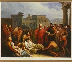 Christus geneest de lamme bij het bad van Bethesda (Joh. 4:47-54)