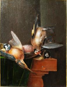 Stilleven met gevogelte