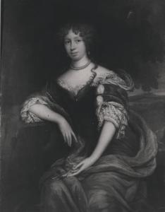 Portret van Anna Catharina ten Behm (?-1715)