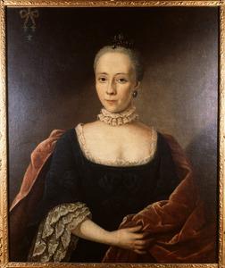 Portret van Frederica Henriette van Westervelt (1746-1813)