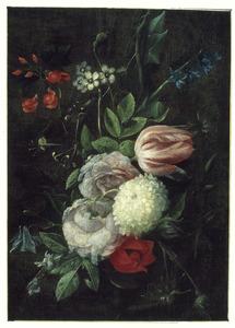 Hangend boeket bloemen