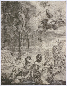 De zondvloed (Metamorfosen I:260-312)