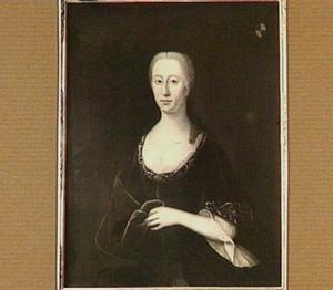 Portret van Suzanna Cecilia Bartha Merens (1708-1783), echtgenote van Engelbert Menthen (1703-1756)