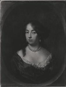 Portret van Cecilia de Jonge van Ellemeet (1648-1686)