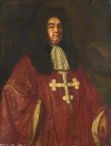 Portret van Johannes Cramprich de Cronevelt (?-1693)