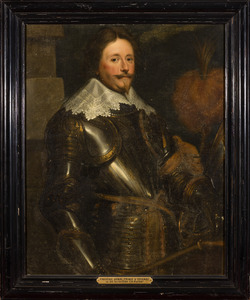 Portret van prins Frederik Hendrik van Oranje- Nassau (1584-1647)
