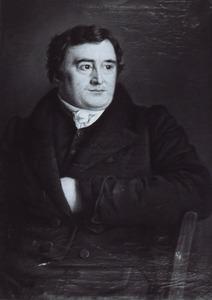 Portret van Arent van Halmael (1788-1850)