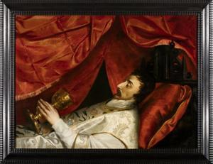 Portret van waarschijnlijk Jacobus van Schendel (1614-1650)