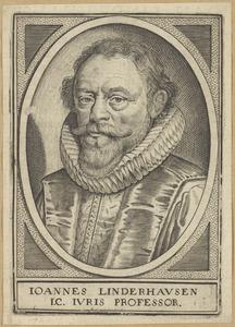Portret van Johannes Linderhausen (1571-1645)