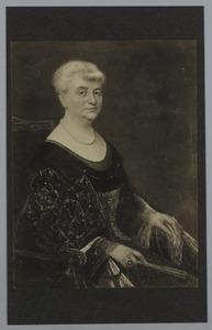 Portret van Mietjen Nord Thomson (1861-1941)