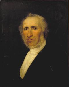 Portret van Isaac Tobias Philips (1794-1872)