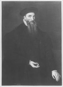 Portret van een man met grijze baard