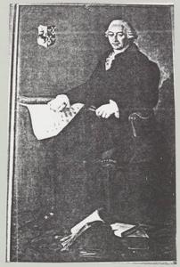 Portret van Arnoldus Joannes van Brienen (1735-1804)