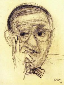 Portret van Erwin Blumenfeld (1897-1969)