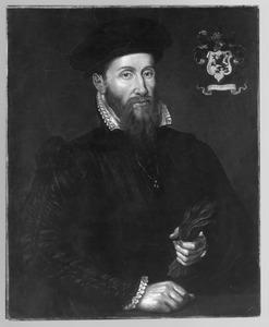Portret van Thomas Kerckerinck (1529- na 1612), gehuwd met Lucretia van Bassen
