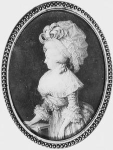 Portret van Catharina Jacoba Sophia le Vaillant (1739-1806)