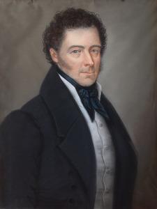 Portret van Willem Was (1788-1860)