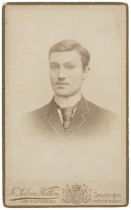 Portret van Bernardus Moorrees (1866-1931)