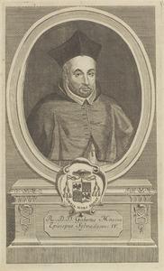 Portret van Gijsbertus Masius (1546-1614)