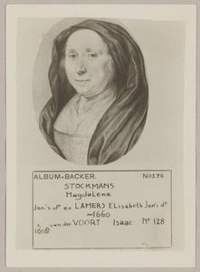 Portret van Magdalena Stockmans (1598-1660)