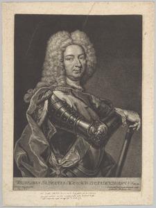 Portret van Wilhelm Friedrich von Brandenburg-Ansbach (1686-1723)