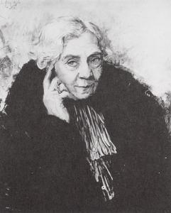 Portret van Maria Everdina Wilhelmina Johanna van Westerhoven (1857-1946)