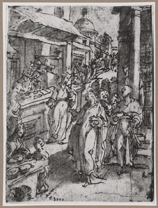 De roeping van de H. Mattheus