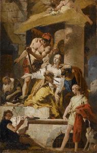 Marteldood van de Heilige Agatha