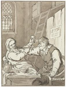 Stoeiend paar (bordeelscène)
