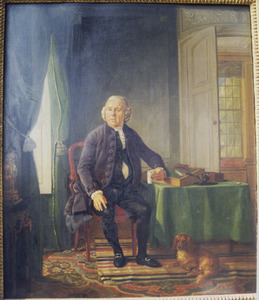 Portret van Abraham Hartevelt (1722-1793)