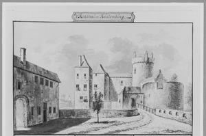 Voorzijde van kasteel Culemborg