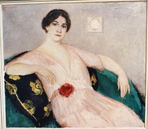 Portret van mevrouw Bertha Julia Rijkens-Culp (1884-1958)