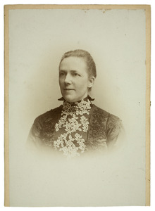 Portret van Adriana Pietertje Hoorweg (1855-1932)