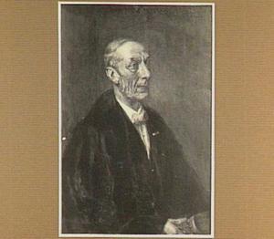 Portret van professor dr F.L. Rutgers