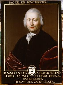 Portret van Jacob de Joncheere (1716-1769)