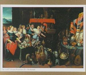Odysseus ontdekt Achilles temidden van de dochters van Lycomedes