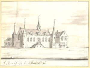 Het raadhuis van Batenburg