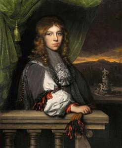 Portret van Mattheus van den Broucke (1652-1716)