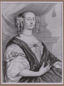 Portret van Anna van Hoogenhouck (1622-1678)