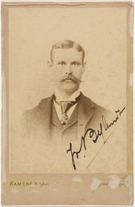 Portret van Jules Ernest Othon Anne Adrien van Bylandt (1863-1907)